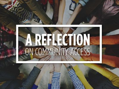 A Reflection on Community Access