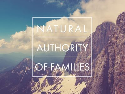 The Natural Authority of Families